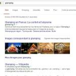 Recherche Glamping