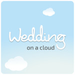 logo wedding on a cloud