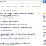 Recherche Créer Site Mariage