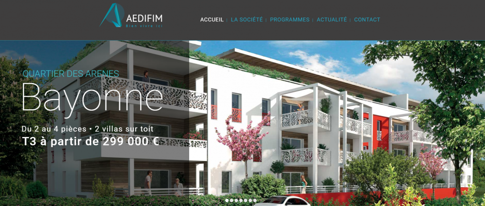Aedifim : Promoteur Immobilier au Pays Basque