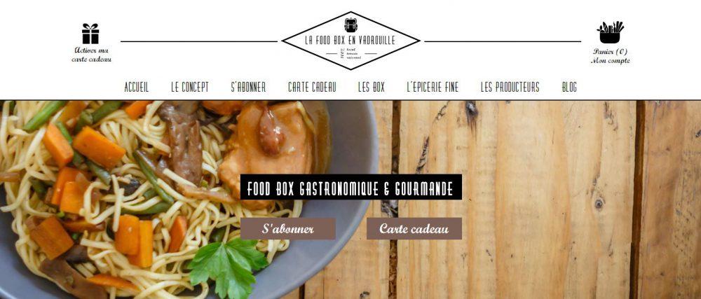 Food box culinaire & gastronomique en vente en ligne