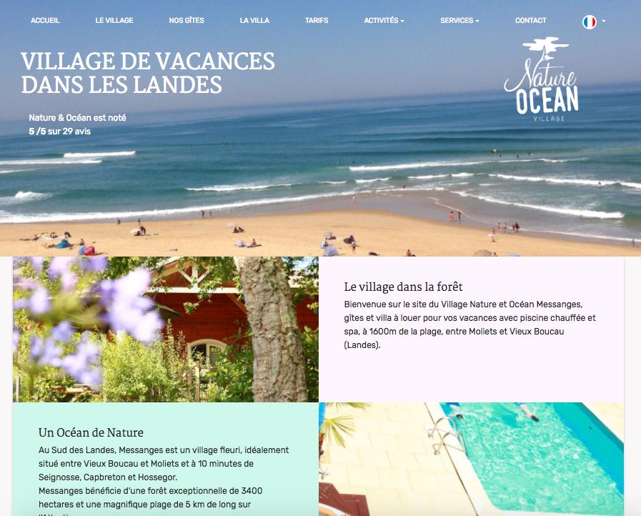 Village de vacances et location de vacances à Messanges (Landes)
