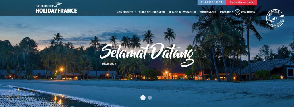Garuda Holiday France : séjours & circuits en Indonésie
