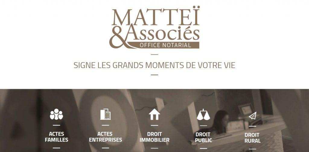 Matteï & Associés, Notaires à Pau (64)