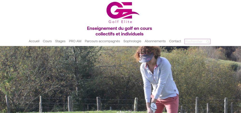 Cours de Golf au Pays Basque avec Gofl Elite