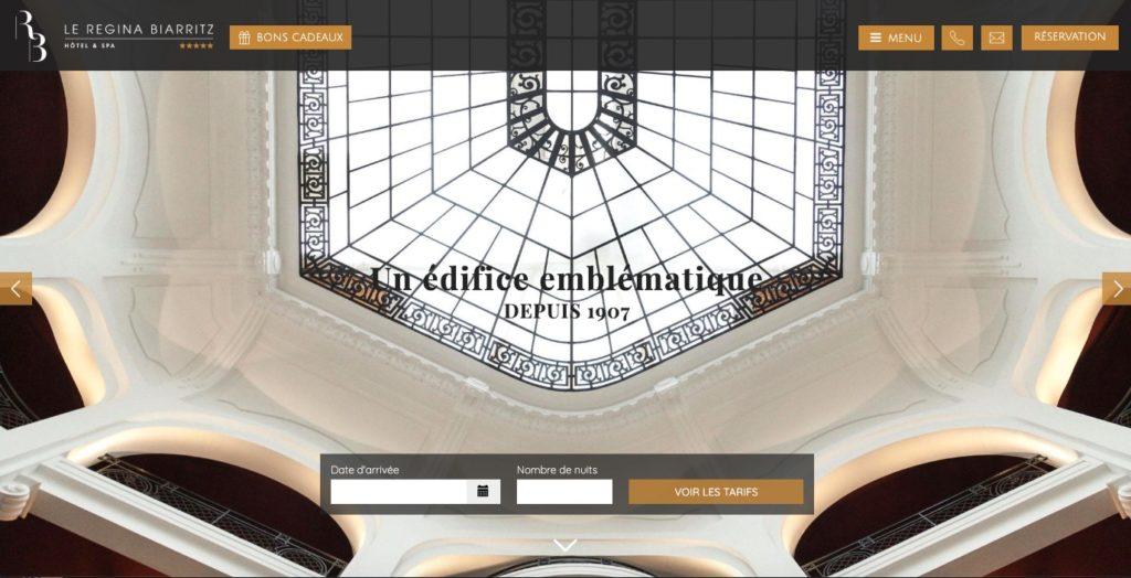 Le Regina Hotel 5 etoiles Biarritz
